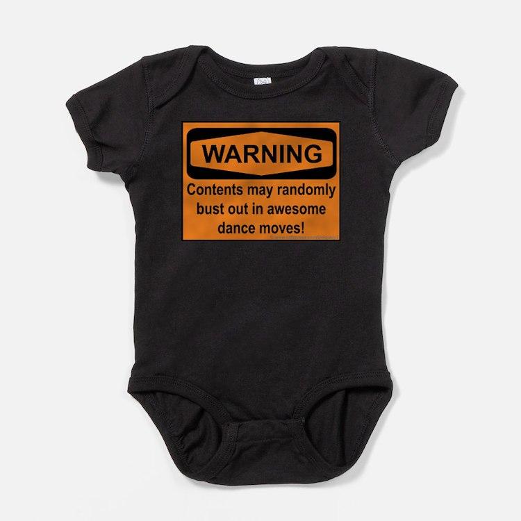 Cute Balboa dance Baby Bodysuit