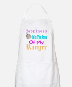 happiness is in the army of m BBQ Apron