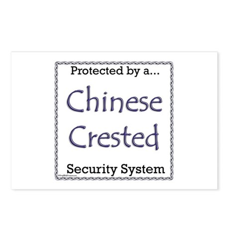 Crested Security Postcards (Package of 8)