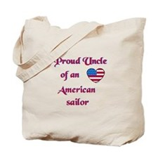 Proud Uncle/American Sailor Tote Bag