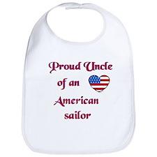 Proud Uncle/American Sailor Bib