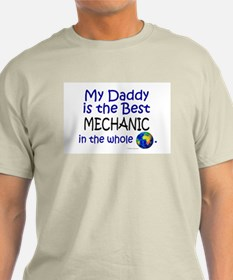 Best Mechanic In The World (Daddy) T-Shirt