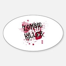 Zombie Killer Decal
