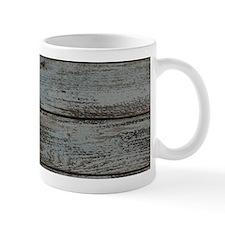 black white barn wood Mugs