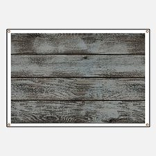 black white barn wood Banner