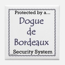 Dogue Security Tile Coaster