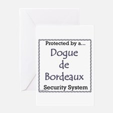 Dogue Security Greeting Card
