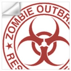 Zombie Response Unit Wall Decal
