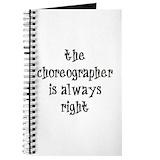 Dance teachers Journals & Spiral Notebooks