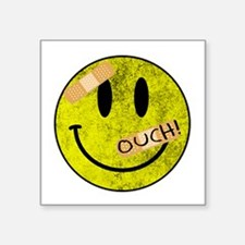 OUCH ADHESIVE TAPES SMILEY FACE Sticker