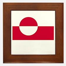 Flag And Name Framed Tile