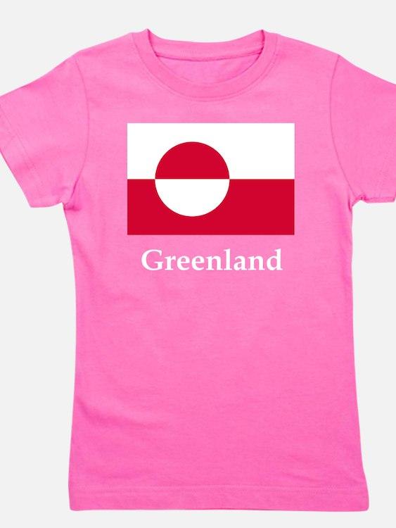 Flag And Name Girl's Tee