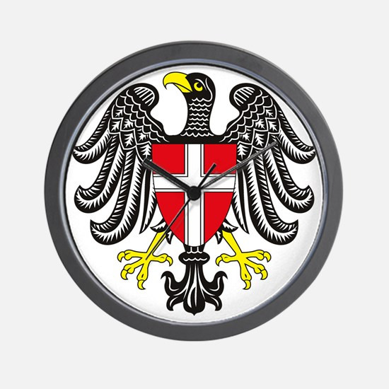 Vienna Coat of Arms Wall Clock