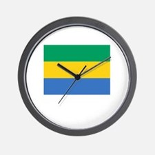 Flag And Name Wall Clock