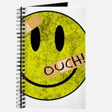 OUCH ADHESIVE TAPES SMILEY FACE Journal