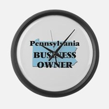 Pennsylvania Business Owner Large Wall Clock
