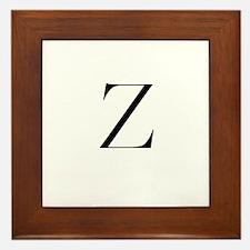 Z Framed Tile