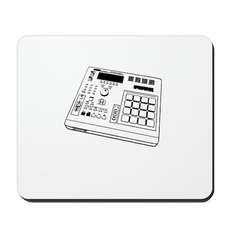 Angle MPC Black/White Mousepad