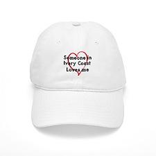 Loves me: Ivory Coast Baseball Cap