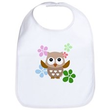 Cute Owls Bib