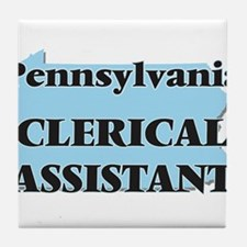 Pennsylvania Clerical Assistant Tile Coaster
