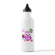 Cute Owls Sports Water Bottle