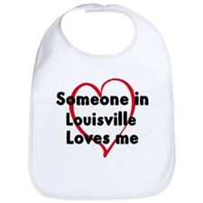 Loves me: Louisville Bib