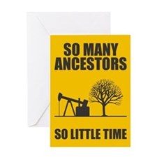 So Many Ancestors Greeting Card