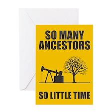 So Many Ancestors Greeting Card