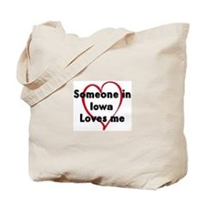 Loves me: Iowa Tote Bag