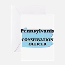 Pennsylvania Conservation Officer Greeting Cards