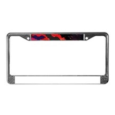 Bats In Flight License Plate Frame