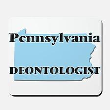 Pennsylvania Deontologist Mousepad