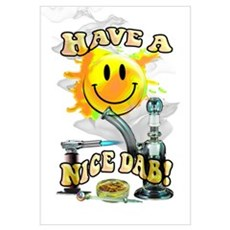 HAVE A NICE DAB! Canvas Art