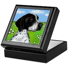 ENGLISH POINTER DOG Keepsake Box