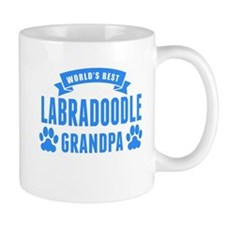 Worlds Best Labradoodle Grandpa Mugs