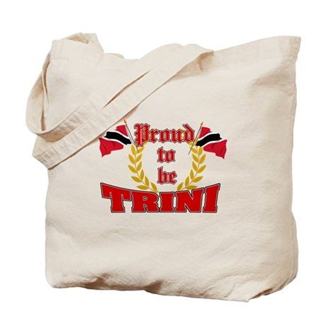 Proud to be Trini Tote Bag