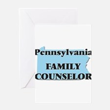 Pennsylvania Family Counselor Greeting Cards