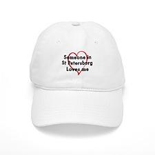 Loves me: St Petersburg Baseball Cap