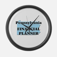 Pennsylvania Financial Planner Large Wall Clock