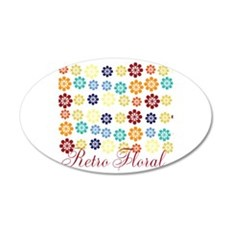 Cool Chic Floral Wall Decal
