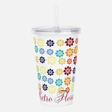 Cool Chic Floral Acrylic Double-wall Tumbler