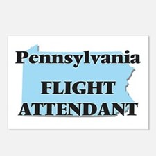 Pennsylvania Flight Atten Postcards (Package of 8)