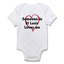 Loves me: St Louis Onesie