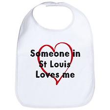 Loves me: St Louis Bib
