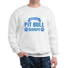 Worlds Best Pit Bull Grandpa Sweatshirt