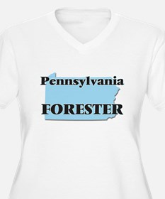 Pennsylvania Forester Plus Size T-Shirt