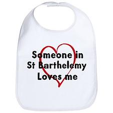Loves me: St Barthelemy Bib
