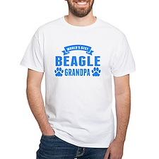 Worlds Best Beagle Grandpa T-Shirt