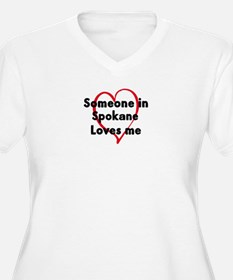 Loves me: Spokane T-Shirt